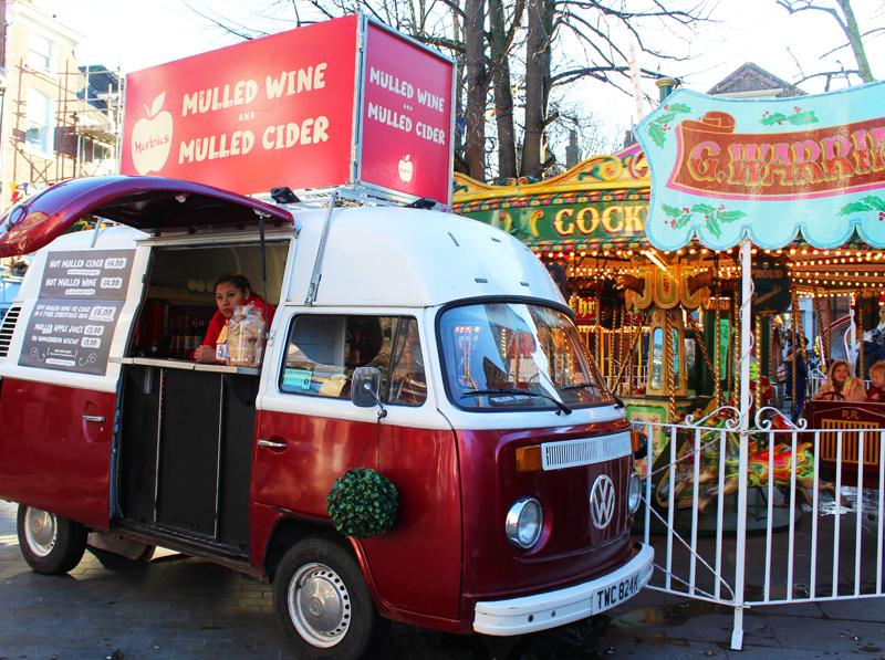 york christmas market - st Nicholas' fair
