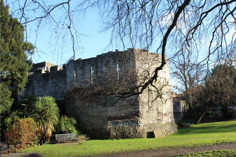 York City Walls Multangular Tower
