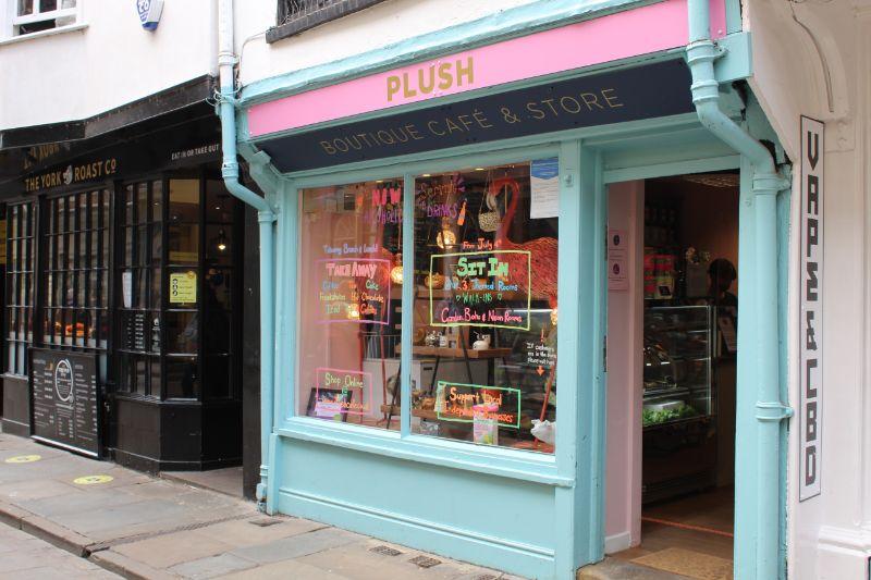 Plush Cafe in York - Dog Friendly