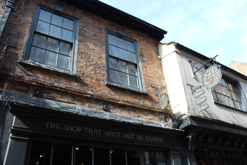 The Shop Who Must Not be Named - Harry Potter on the Shambles, York