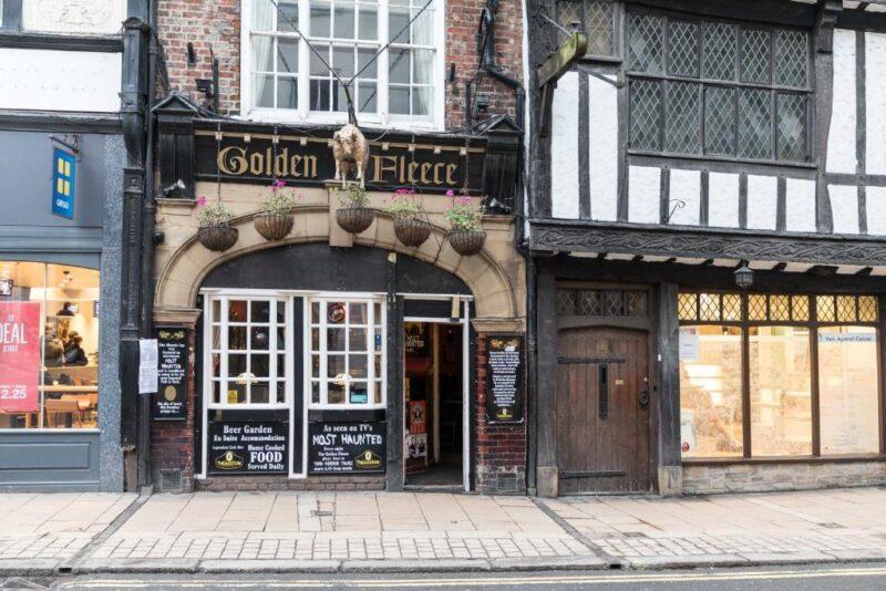 most haunted pub in york